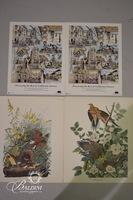 (2) Audobon Lithographs and (2) California State Parks Lithographs