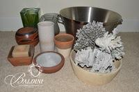 Assortment of Pottery, Glass & Other Decor