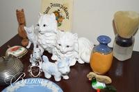 Assortment of Trinkets, Including Wedgwood and Shaving Brush
