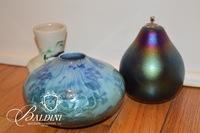 Trio of Pottery & Glass