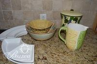 Kitchen Ceramics, Including Majolica Corn Soup Tureen