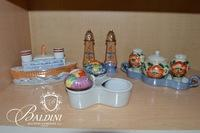 Collection of Salt & Pepper Shakers, Including Lusterware