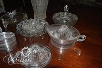 Assortment of Pressed Glass
