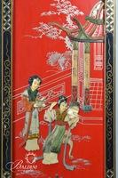 Hand Painted & Embossed Chinese Panels