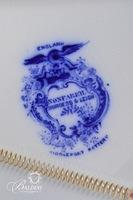 Non Pareil (Flow Blue) Platter by Burgess & Leigh