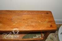 Oak Bench