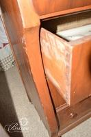 Mahogany Empire Dresser