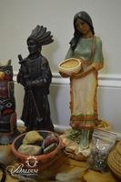 Native American Statues & Other Items