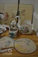 Bird-Themed Items - Pottery, Planters, Porcelain & More