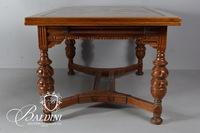 Deco Dining Table with Pull-Out Leaves