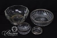 Pressed Serving Bowls