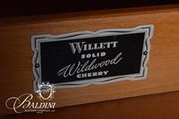 "Willett ""Wildwood"" Cherry Stepback Cupboard"