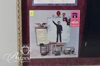 Iconic Conway Twitty Navy Blue Stage Outfit and Album Cover