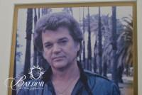 Conway Twitty Black Stage Outfit and Autographed Photo