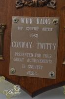 "1982 WHK Radio Station Award for ""Top Country Artist"""