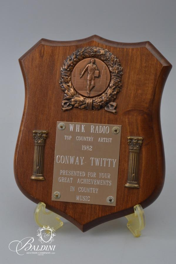 Conway Twitty Guitar and Other Memorabilia from his Estate