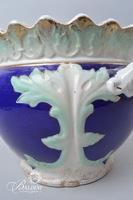 Doric Ford Ceramic Planter with Foliate Detail