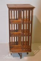 Revolving Bookcase on Casters