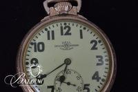 Ball Pocket Watch, Gold Filled