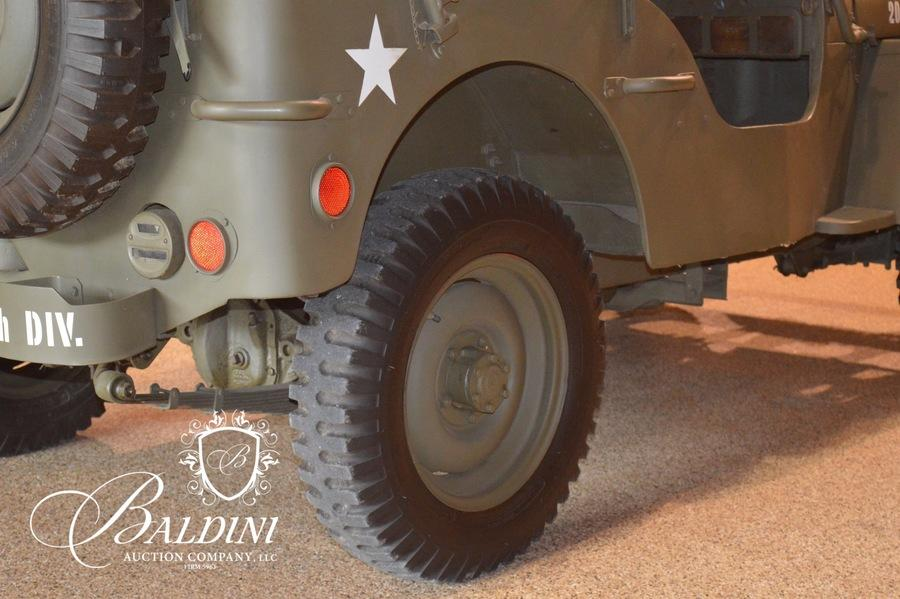 Baldini Auction - Auction: 1943 Willys Ford Jeep ITEM: 1943 Ford GPW