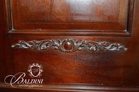 Very Large Heavily Carved Armoire with Drawers