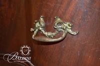Heavily Carved Dresser wtih Wishbone Mirror on Harry Paw Feet