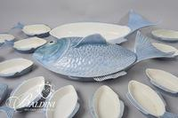 Fish Serveware Marked Portugal