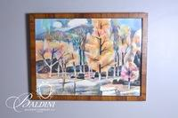 John Richardson Framed Watercolor, Signed