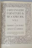 """Early English Furniture & Woodwork"" in a Limited Edition Printing #687/100 and ""English Furniture"""