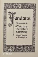 (2) Early Furniture Books