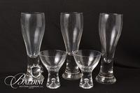 Assorted Crystal Barware Glasses