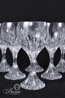 (11) Baccarat Crystal White Wine Glasses