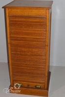Ephemera Roll Front Cabinet with 9 Drawers