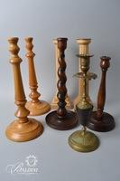 Candle Holders and (2) Snuffers