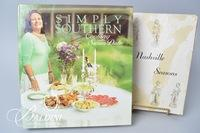 """Simply Southern"" Cookbook, Signed and 1964 ""Nashville Seasons"" Cookbook by the Junior League"
