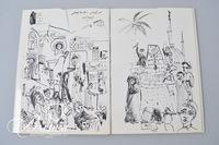 """A Book of Drawings"" 70/700 Signed by Red Grooms and Mimi Gross, 1961"