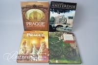 """(5) Books """"The Palaces of Prague"""" and Other Famous Cities of the World"""
