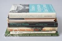 (6) Books - New Orleans and Virginia Houses